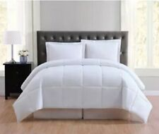 Truly Soft Everyday Solid Full/Queen 3 Piece Comforter Set, White