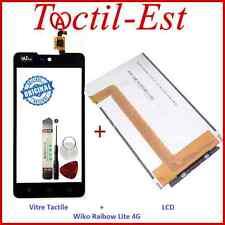 Vitre Ecran Tactile + Ecran LCD ORIGINAL  Wiko Rainbow Lite 4G + Outils + 3M
