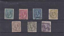 Canada Used 1903-1908, #89-95 King Edward VII Set