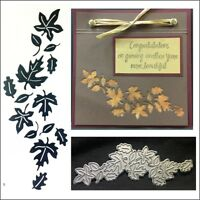 Leaves Reverse metal die Serendipity cutting dies 078HD Autumn Fall Leaf