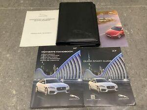 Jaguar XF handbook owners manual pack navi wallet 2015-2020 print 2015 facelift
