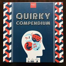 BRAND NEW - QUIRKY COMPENDIUM GAME - 4 PLAYERS + - 8 YEARS +