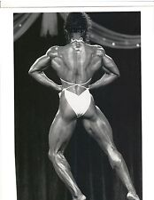 Female Bodybuilder LENDA MURRAY Ms Olympia Bodybuilding Muscle Photo B+W