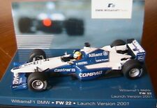 WILLIAMS BMW FW22 #5 LAUNCH VERSION R SCHUMACHER 2001 F1 TEAM MINICHAMPS 8042002