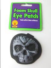 New Foam Pirate Skull Eyepatch Costume Accessory By Rubies