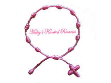 Knotted Rosary Bracelet - Pink - Great Guarantee