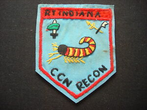 RT INDIANA CCN RECON - 5th SFGrp - Nam War Hand Made Patch
