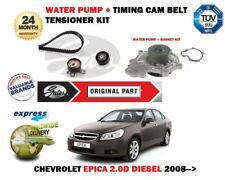 FOR CHEVROLET EPICA 2.0D DIESEL 2008> WATER PUMP + TIMING CAM BELT TENSIONER KIT