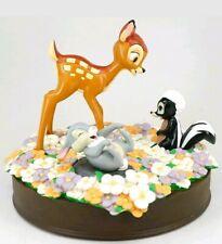 Disney Bambi Flower & Thumper Statue Figures Bust 75th Anniversary