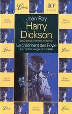 Harry Dickson.Le châtiment des Foyle.Jean RAY.Librio SF20