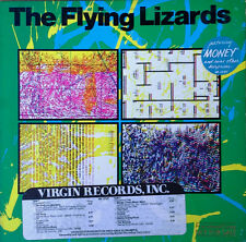 "FLYING LIZARDS - SELF TITLED - VIRGIN LABEL - PROMO LP + TIMING STRIP - ""MONEY"""