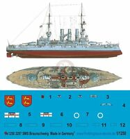 Peddinghaus 1//1250 RM Roma Italian Battleship WWII Markings w//Camo July /'42 3319
