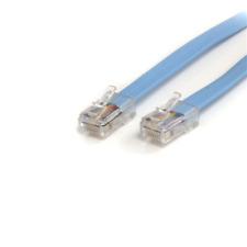 Startech 6 ft Cisco Console Rollover Cable - RJ45 Ethernet M/M