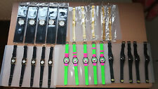 LOVELY JOB LOT OF 100 VARIOUS BRAND NEW WATCHES - WHOLESALE, BARGAIN, CLEARANCE