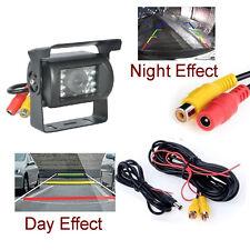 IR LED visión nocturna por infrarrojos Bus Coche De Visión Trasera Aparcamiento Reversa Cámara Impermeable