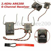 Spektrum Compatible AR6200 6 Channel Receiver w/Satellite RC Plane Heli Multicop