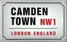 Blechschild Camden Town London Strassenschild Blech Schild Souvenir 20x30 cm