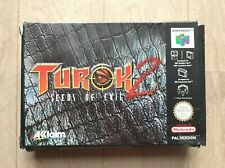 Turok 2 Seeds of Evil Boîte - Nintendo 64 N64 - Complet - PAL FAH - Bon Etat