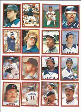 1982 O-Pee-Chee Baseball Sticker Bo Diaz #176 Cleveland Indians *MINT*