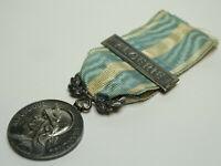 """Médaille Coloniale, agrafe """"ALGERIE"""". Argent  /A038"""