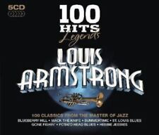 "Louis Armstrong ""100 Hits"" 5CD Set NEW & SEALED 1st Class Post From The UK"
