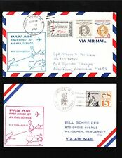 1st Jet Service New York to Berlin Direct & Prague 4 COVER COLLECTION 5v