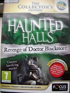 HAUNTED HALLS---REVENGE OF DR. BLACKMORE--THE COLLECT EDIT--HIDDEN OBJECT--PC CD