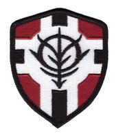 Gundam Zeon Principality Flag Shield Costume VELCRO® BRAND Hook Fastener Patch