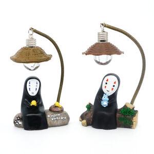 LED Lamp No Face Man Night Light Miyazaki Hayao Spirited Away Model Toys Gift