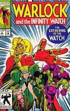 MARVEL COMIC WARLOCK and the INFINITY WATCH #2 BIN  W-3