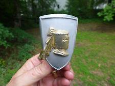 "1950's Dodge Royal Lancer emblem badge shield R-AD  3 1/8"" high"