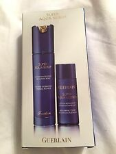 Guerlain Super Aqua-Serum and Lotion Set. New in Box.