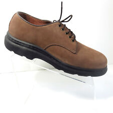 New Clarks Mens Shoes Sz 10.5 W Brown Nubuck Never Worn Casual Lace Up Oxford