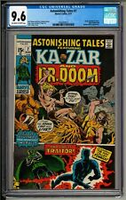 Astonishing Tales #7 (1971) CGC 9.6 OW/W!  Dr. Doom! Black Panther! Ka-Zar!