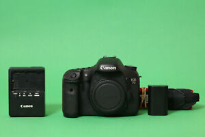 Canon EOS 7D 18.0MP DSLR Camera (Body Only) - 58378 Shutter Count