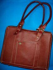 "Sturdy Attache / Briefcase / Tote / Organizer Bag by "" Around the Block """