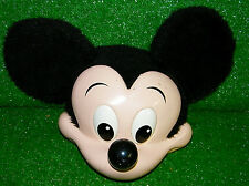 Vintage Walt Disney World Mickey Mouse Ears Hat Made In Usa