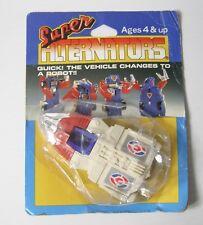 Super Alternadores transbordador Tomy 1986 Transformers Robots del vehículo en Caja Orig.