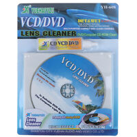 DVD VCD Player Laser Head Lens Cleaner Dry&Wet Disc Cleaning Kit Rep DFI