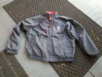 Vintage SCRANTON Wilkes-Barre RED BARONS MINOR LEAGUE STAFF Baseball Jacket XL