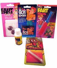 Practical Joke Kit 2 - Disappearing Ink Itch Powder Gag Prank Trick