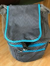 Picnic Time Zuma Cooler Backpack, Waves Collection, Insulated, Brand New