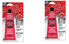 2 pk Shoe Goo BLACK 3.7 oz  Shoe Repair Adhesive Glue Leather Rubber Black