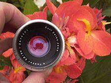 Zeiss Jena Nr.3514281 Tessar 80/2.8 Sony Nex FE m4/3 rds Canon Pentax Nikon,Nice