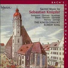 Sacred Music by Sebastian Knüpfer (CD, 2000, Hyperion) new