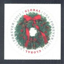 Christmas Wreath. Global Forever Stamp, 2013 United States Scott #4814