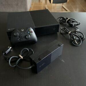 Microsoft Xbox One 500 Go Console - Noire - câbles et manette - Très bon état