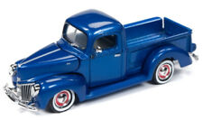 1/64 RACING CHAMPIONS 1940 Ford Pickup in Blue Metallic