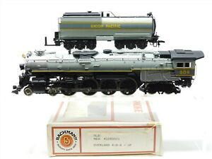 HO Scale Bachmann 41053501 UP Union Pacific 4-8-4 Steam w/ Tender #809