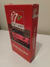 Red Road Gods Inside Ferrari VHS Documentary 1947-1997